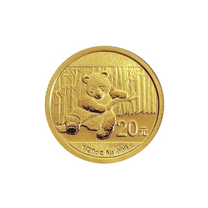 Chinese Gold Panda 20th Ounce 2014