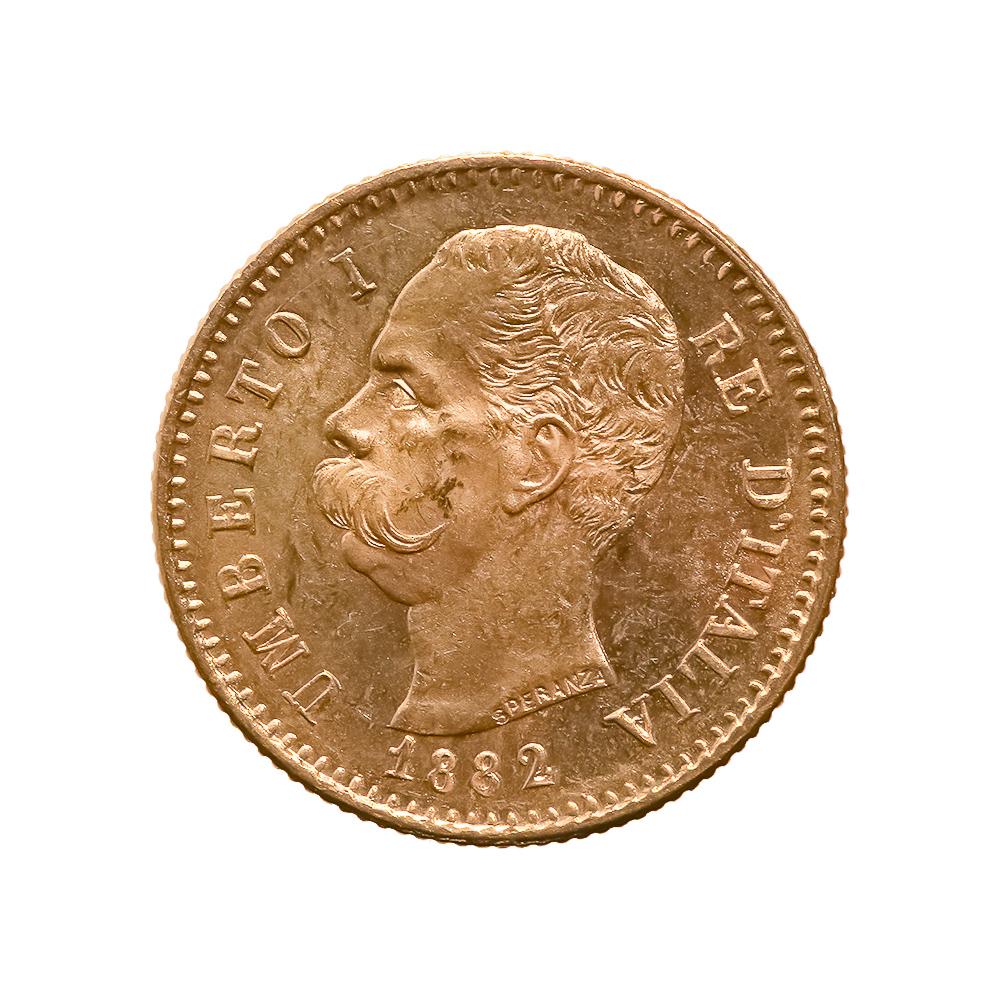 Italy 20 lira Gold Coin