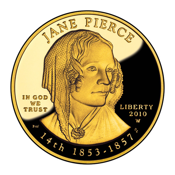 First Spouse 2010 Jane Pierce Proof