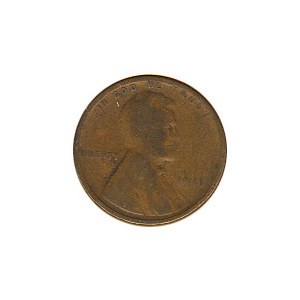 Lincoln Cent G-VG 1911