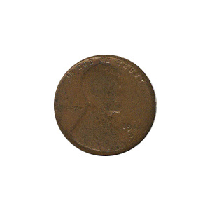 Lincoln Cent G-VG 1912-D