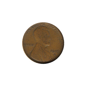 Lincoln Cent G-VG 1914-D