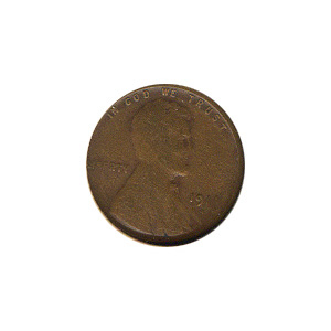 Lincoln Cent G-VG 1914-S