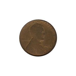 Lincoln Cent G-VG 1914