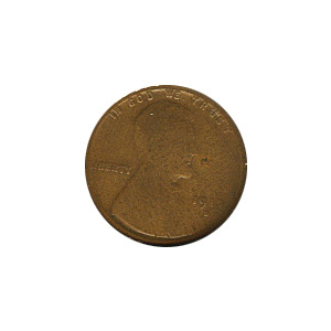 Lincoln Cent G-VG 1915-S