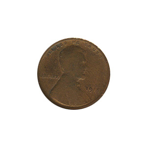 Lincoln Cent G-VG 1915