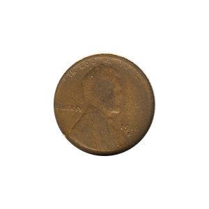 Lincoln Cent G-VG 1916-D