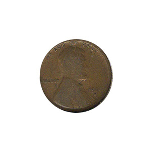 Lincoln Cent G-VG 1916-S