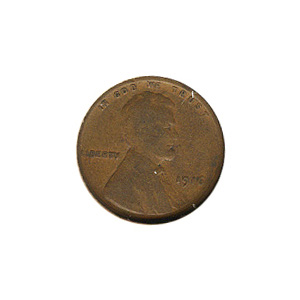 Lincoln Cent G-VG 1916