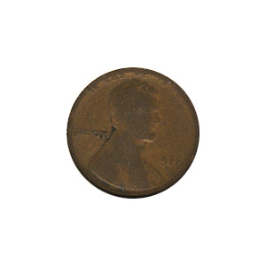 Lincoln Cent G-VG 1917-D