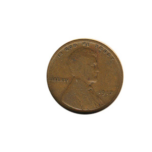 Lincoln Cent G-VG 1917