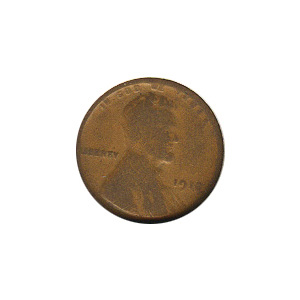 Lincoln Cent G-VG 1918