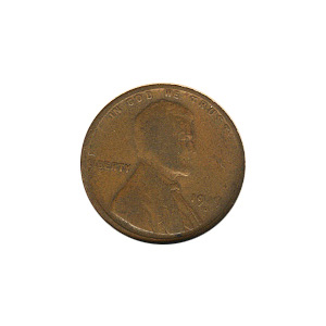 Lincoln Cent G-VG 1919-D
