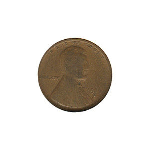Lincoln Cent G-VG 1919-S