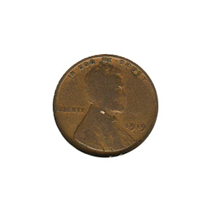 Lincoln Cent G-VG 1919