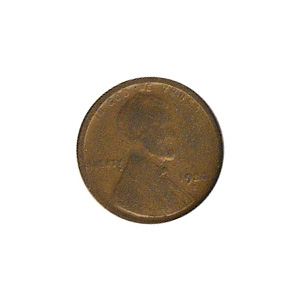 Lincoln Cent G-VG 1920-S