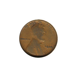 Lincoln Cent G-VG 1924
