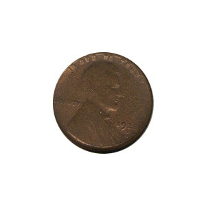 Lincoln Cent G-VG 1925-D
