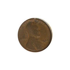 Lincoln Cent G-VG 1925-S