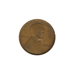 Lincoln Cent G-VG 1925
