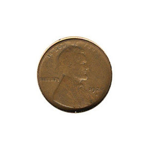 Lincoln Cent G-VG 1926-D