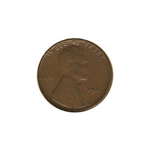 Lincoln Cent G-VG 1926-S
