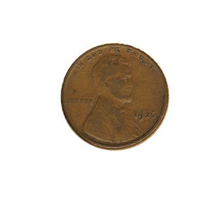 Lincoln Cent G-VG 1926