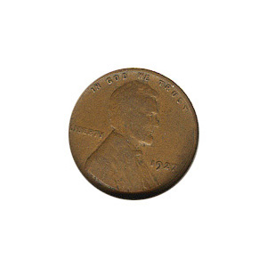 Lincoln Cent G-VG 1927