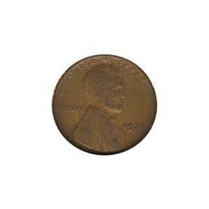 Lincoln Cent G-VG 1928-D