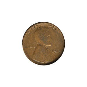 Lincoln Cent G-VG 1929