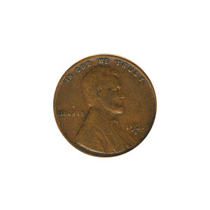 Lincoln Cent G-VG 1931-S
