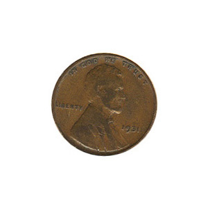 Lincoln Cent G-VG 1931