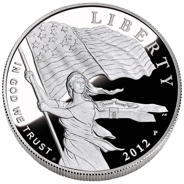 US Commemorative Dollar Proof 2012 Star Spangled Banner