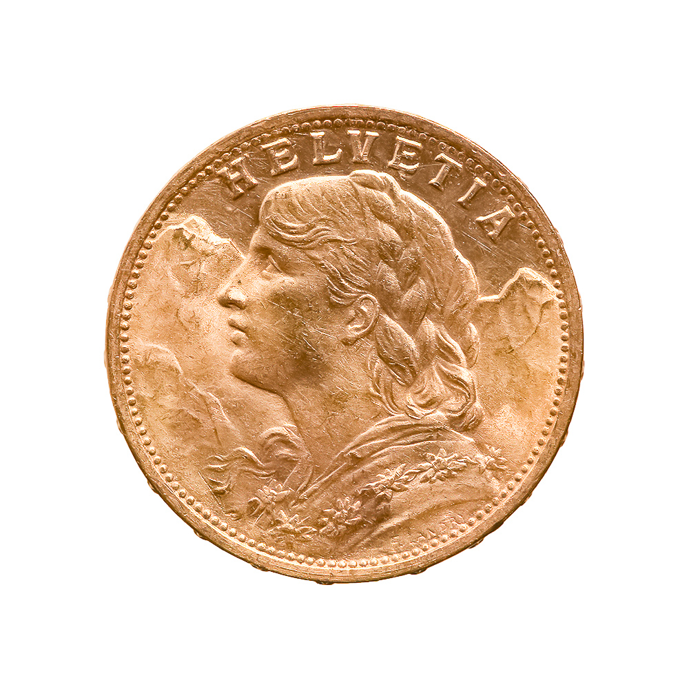 Swiss 20 Franc Gold Coin (Date of our Choice)