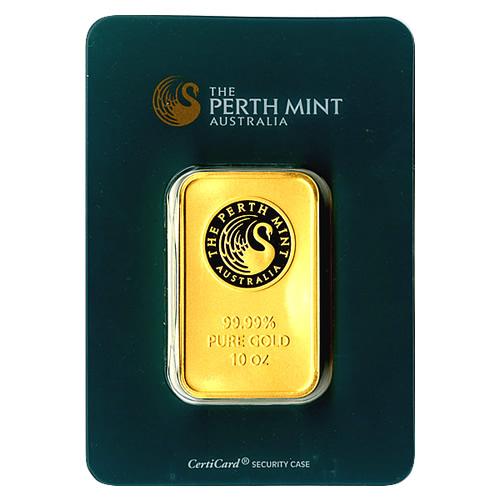 Perth Mint Ten Ounce Gold Bar