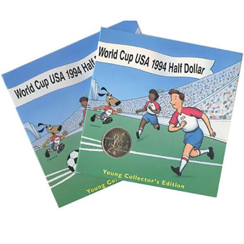 Young Collectors Commemorative World Cup Half Dollar 1994