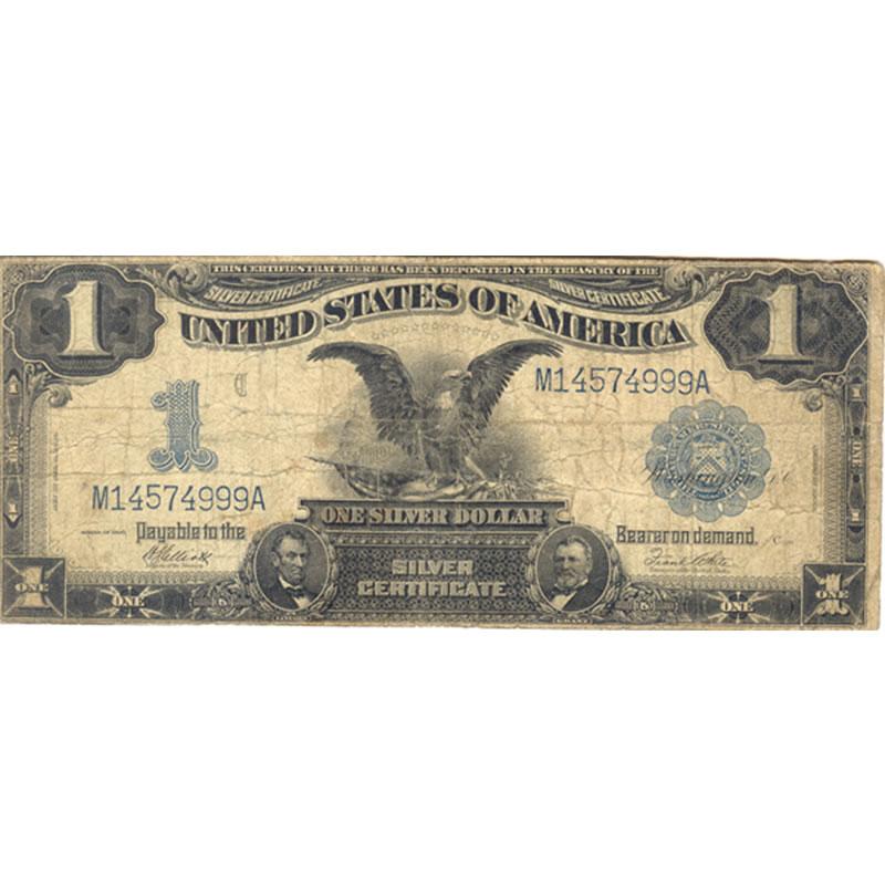 1899 $1 Silver Certificate (Black Eagle) VG