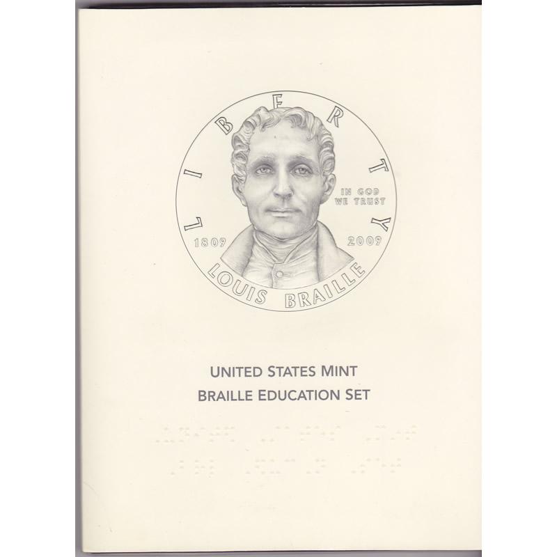 2009 Louis Braille Education Set