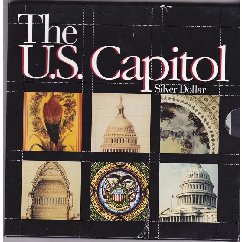 1994 U.S. Capitol Silver Dollar Special Edition Set