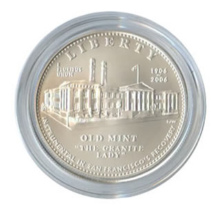 US Commemorative Dollar Uncirculated 2006 Old Mint