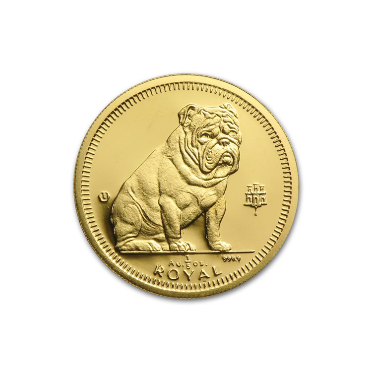 Gibraltar 5th Royal Gold 1996 Bulldog