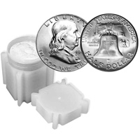 Franklin Half Dollar Rolls: 1961 Uncirculated