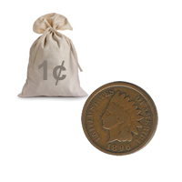 Indian Head Cents All 1800s Good Or Better 100 pcs.