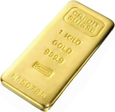 One Kilo Gold Bar - Random Manufacturer 32.15 Troy Ounces