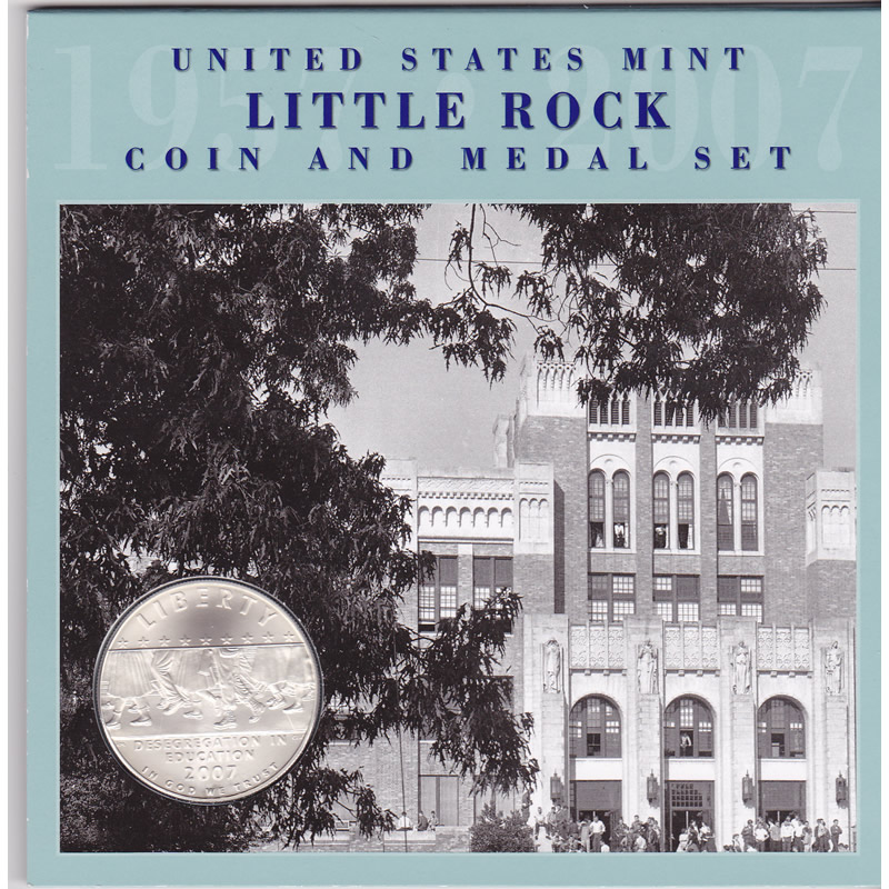 2007 Little Rock Coin and Medal Set