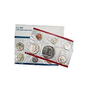 Uncirculated Mint Set 1977