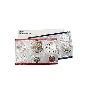 Uncirculated Mint Set 1978