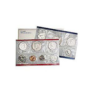 Uncirculated Mint Set 1981