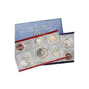 Uncirculated Mint Set 1991