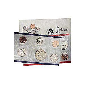Uncirculated Mint Set 1992